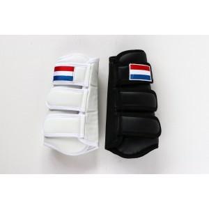 206NL HPD Luxe beenbeschermers voorbeen Wit en Zwart