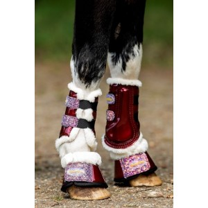 228A HB Show-time Gold Rush Glitter Trainingsboots Little sizes