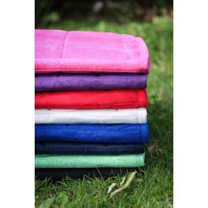 613 HB Suede Dressage puff pads