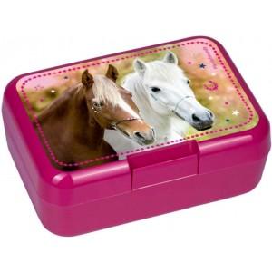 P-44 Paardenvriend Lunchbox roze